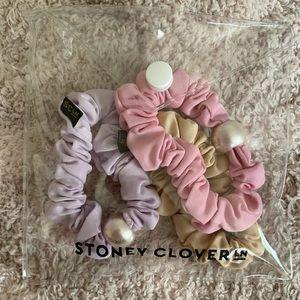 Stoney Clover x Lele Sadoughi scrunchies